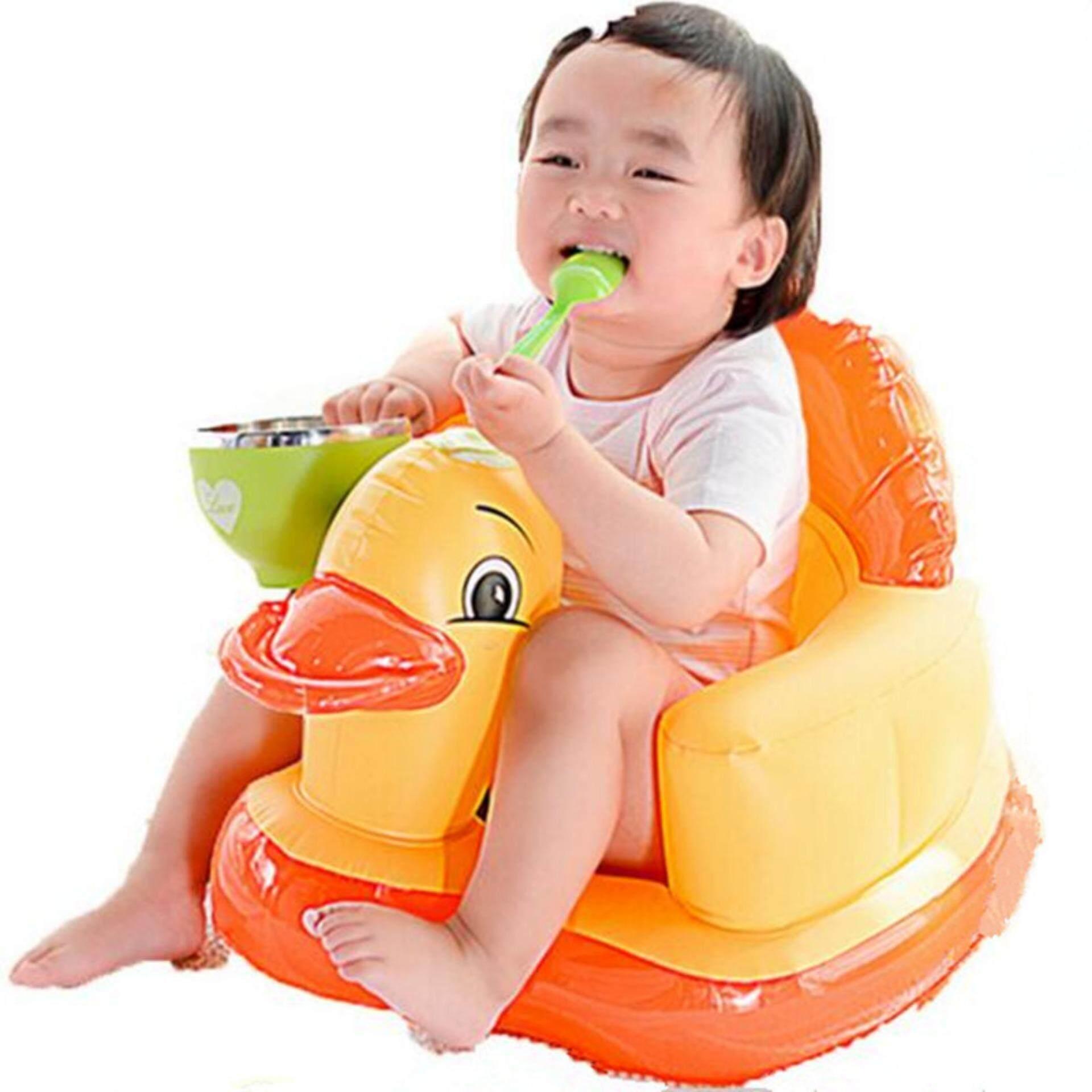 Bayi Dapat Diisi Angin Kursi Tempat Tidur Makan Portabel Lipat Sofa Permainan Bayi Engah Dining Mandi Kursi Sofa Plastik Stools-Internasional
