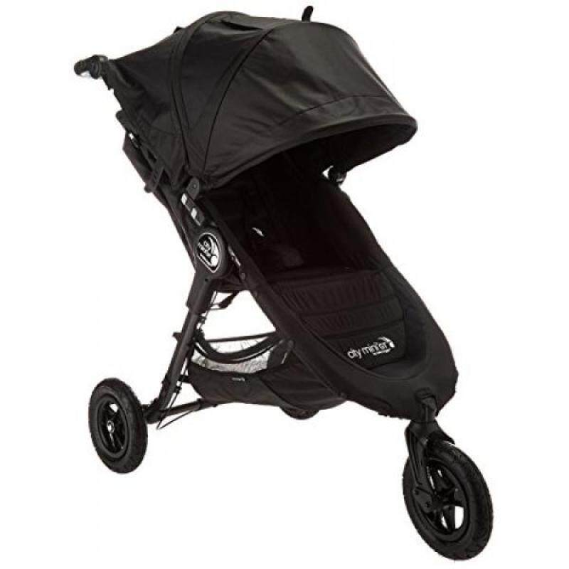 Baby Jogger 2016 City Mini GT Single Stroller - Black/Black - intl Singapore