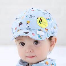 3e478e96e16 Baby Kid Boy Girl Toddler Infant Hat Little Car Baseball Beret Cap Blue