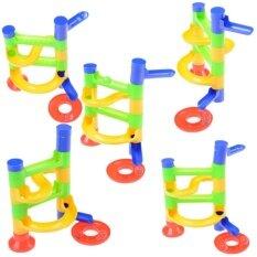 Baby Kid'S Orbit Ball Toy Diy Construction Marble Race Run Maze Balls Toy – intl