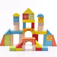Baby Kids Wooden Building Blocks Puzzle Toy By Boltz Trading.