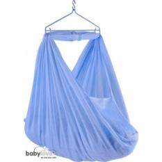 Baby Love Soft Sarong Netting With Head Xl - Blue By Tj Baby House.