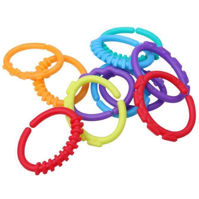 Baby Rainbow Molars Ring Toys: Buy sell online Crib Toys & Attachments with cheap price - intl