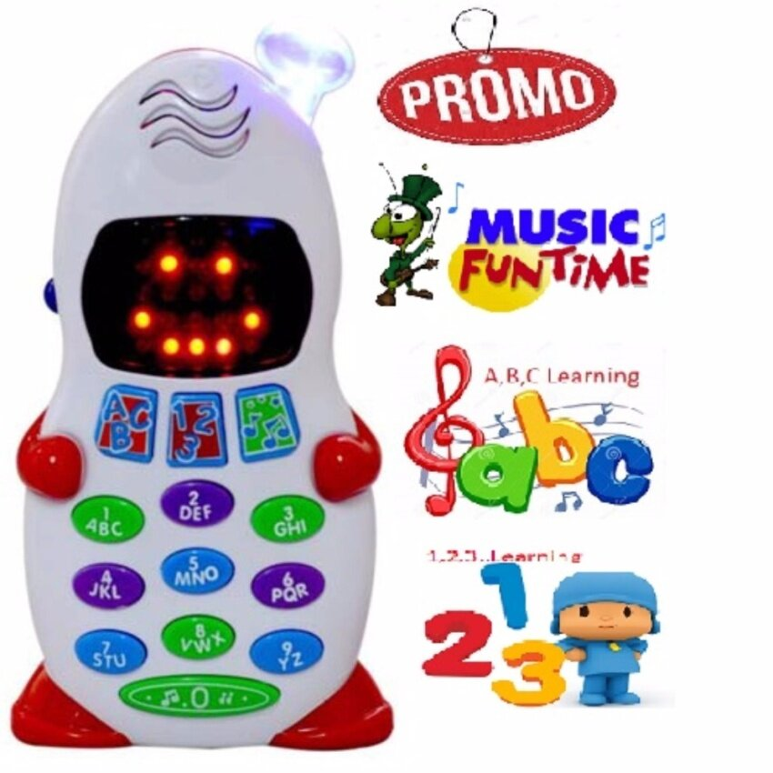 Baby Toddler ABC Number Music Learning Phone Toys Toy Gifts