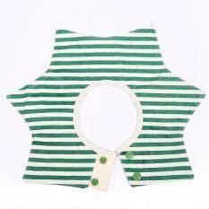 Baby Toddler Infant Feeding Dribble Bib Pinafore Saliva Towel Burp Cloth