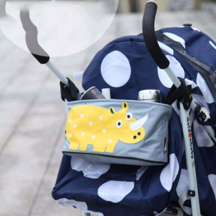 Baby Toddler Stroller Organizer Buggy Hanging Bag holds Beverage water Diaper cell phone Toys Baby formula Storage Stroller Accessory - Intl