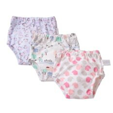 Babyfriend Toddler Baby Girls Reusable Toilet Pee Potty Training Pants Cloth Diapers Underwear By Babyfriend Training Pants.