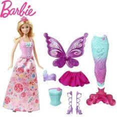 Búp bê Barbie Chính Hãng Thương Hiệu Nàng Tiên Cá Đầm Búp Bê Tính Năng Nàng Tiên Cá Barbie Búp Bê Gái Sinh Nhật Cô Gái Đồ Chơi Quà Tặng Boneca