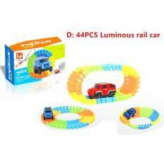Bend Flex Curve Slot Diy Car Track Toy Car Set With Glows In The Dark Track Roller Coaster Track Toy Led Car Puzzle Toys For Kid By Smilewill Store.