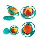 Big Family:Practical Baby Feeding Supplies Non No Spill Feeding Toddler Baby Kids Gyro Bowl 360 Rotating Avoid Food Spill image on snachetto.com