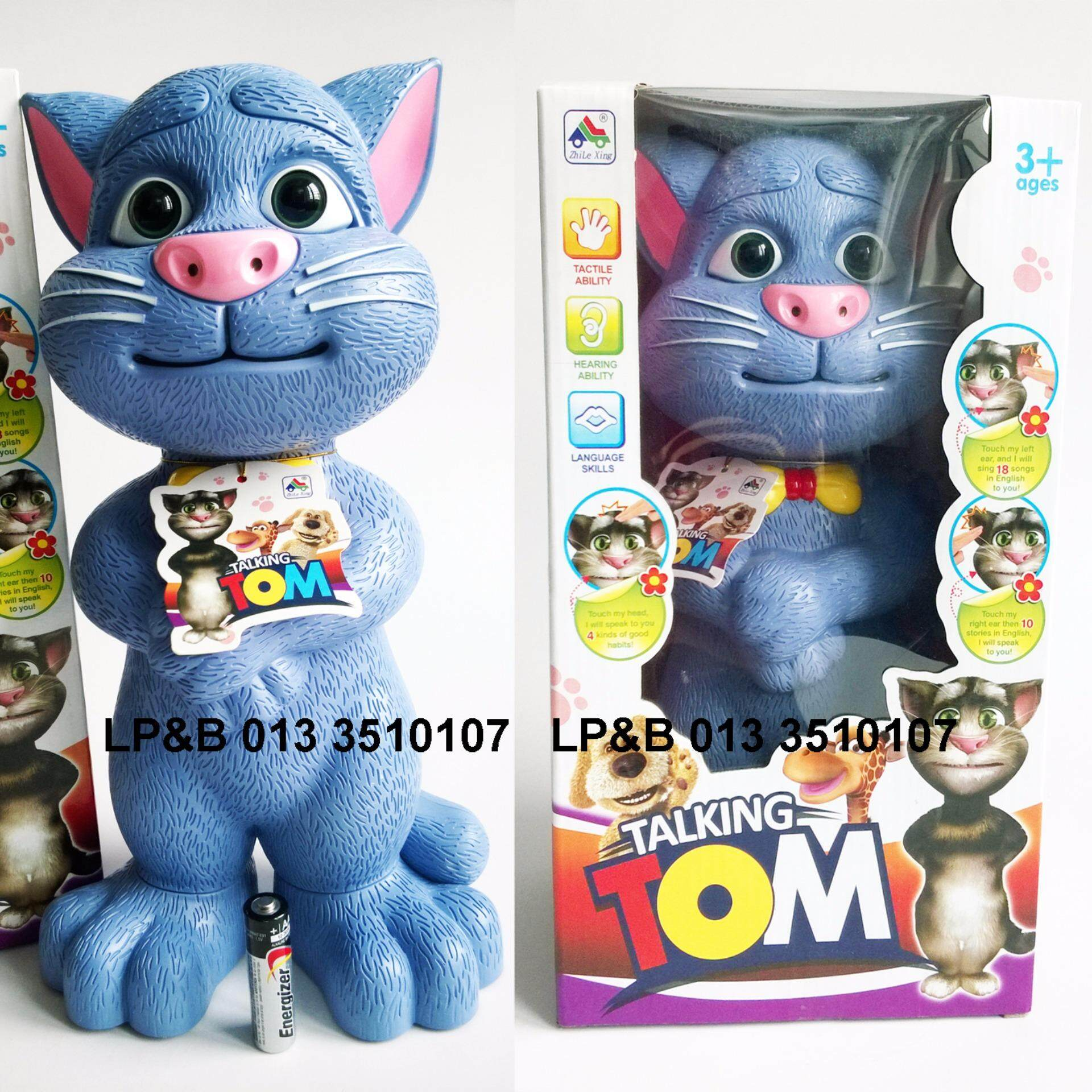 Paling Murah Big Talking Tom Touch Sing Telling Jokes Early