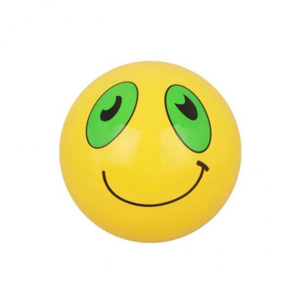 9 Inflatable Smiley Emoji Ball Beach Kids Toy-Yellow Pool By Aajqcqwf.
