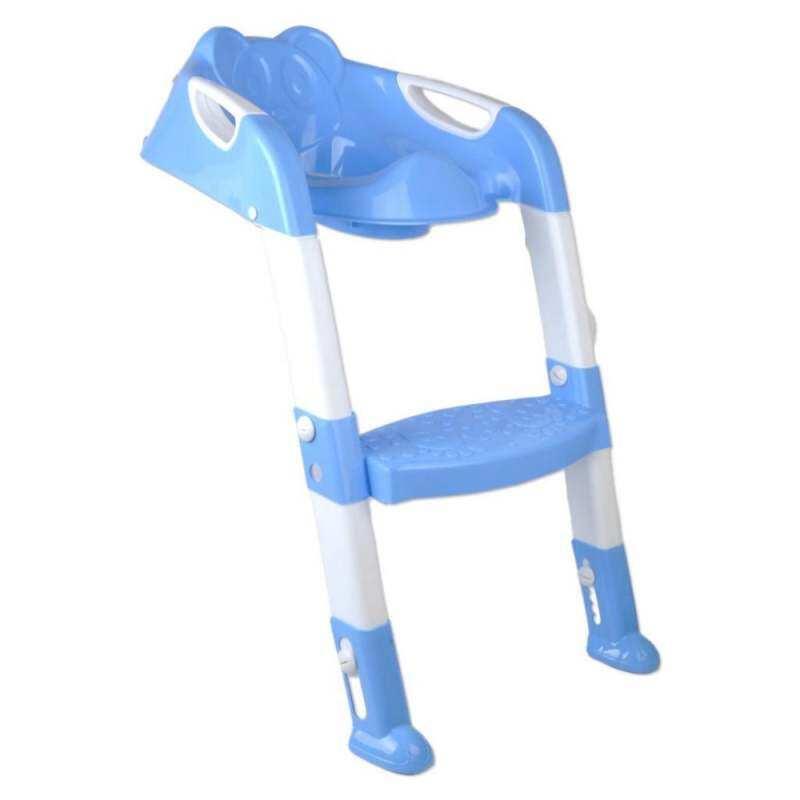 JJY86FCDD Bayi Lipat Balita Anak Pispot Toilet Latihan Kursi Langkah Kursi  Bertangga Biru a2879d3218
