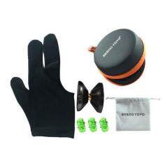 Bolehdeals Beboo Yo Yo S2 Pro Aluminium Alloy Magic Yo Yo W/ Case Glove Set Kids Gifts By Bolehdeals.