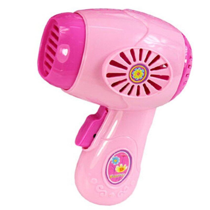BolehDeals BolehDeals Plastic Simulation Hair Dryer Home Appliance for Kids Role Play Toys