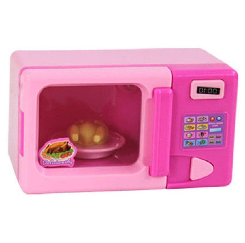 BolehDeals BolehDeals Plastic Simulation Microwave Oven Home Appliance for Kids Role Play Toys