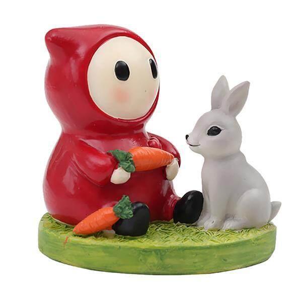 Bolehdeals Kehidupan Percintaan Miniatur Hewan Peri Kebun Lanskap Mikro Pot Bonsai Decor #2-Intl