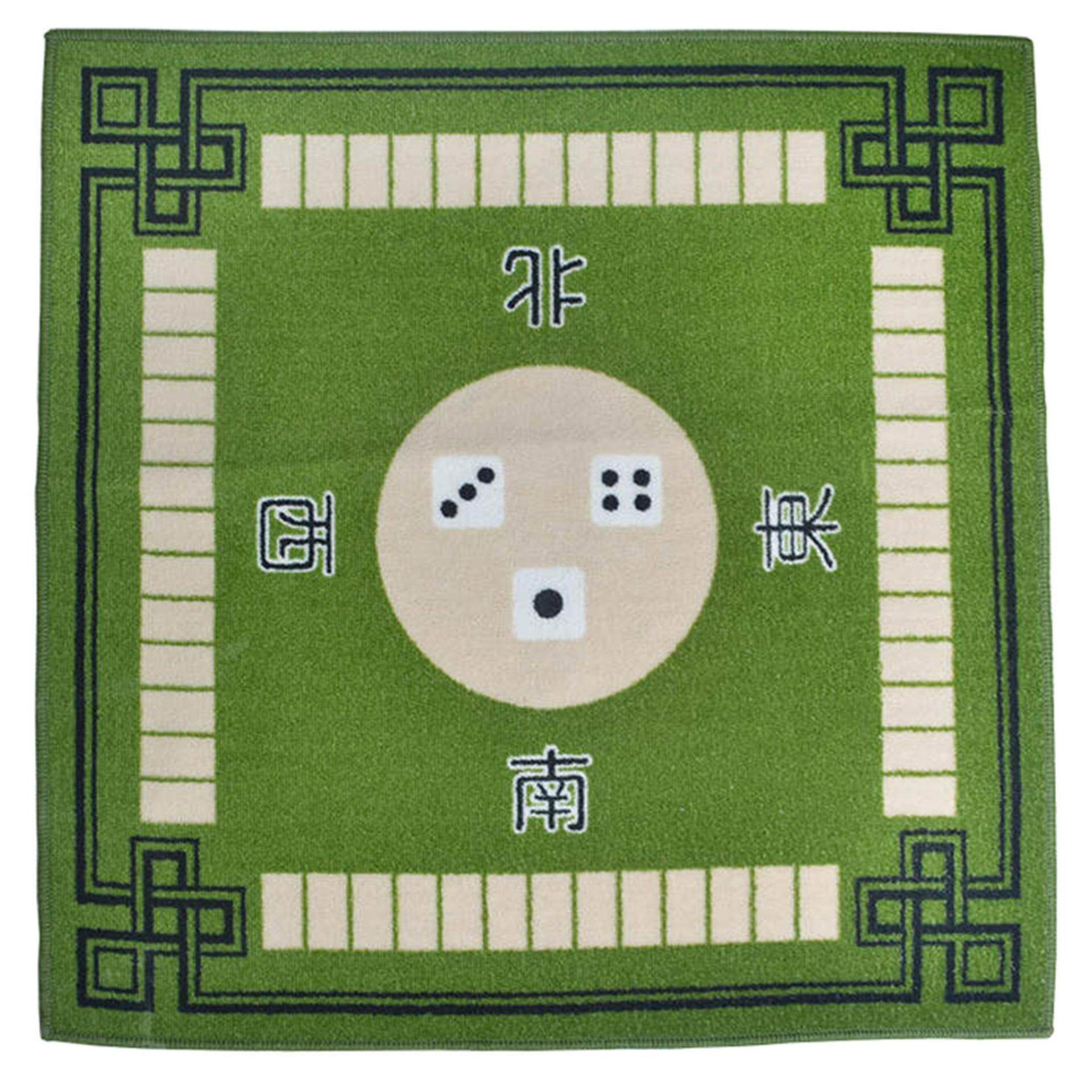 Sale Bolehdeals Mahjong Table Mat Cloth Household Silence Anti Skid 79X79Cm Card Game Green Intl On Hong Kong Sar China