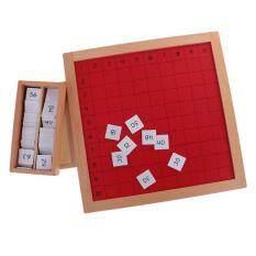 BolehDeals Montessori Kids Wooden Board Math Learning Education Preschool Training Toys