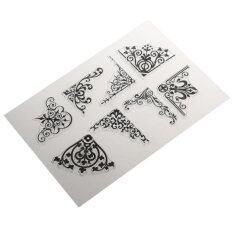 Bolehdeals Silicone Clear Rubber Stamp/seal For Diy Scrapbooking Edge Pattern By Bolehdeals.