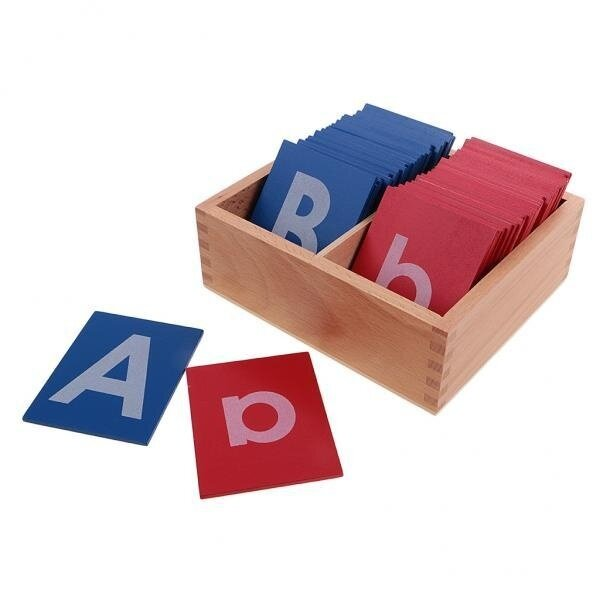 BolehDeals Wooden Baby Montessori Sand Alphabets Board for Educational Letter Learning