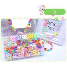 Candy Colors Diy Wear Beads For Bracelet Kids Toys Geometric Shape Personalized Jigsaw Puzzle By Super Babyyy.
