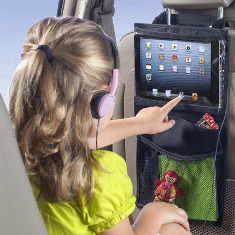 HSGA16RS Kursi Mobil Mummy Tas Gantung Anak Palet Anak Komputer dengan Perjalanan Ipad Tablet