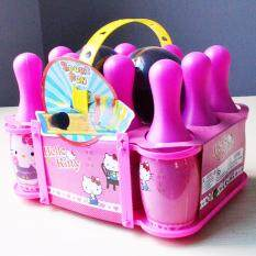 Cartoon Bowling Set Toy For Kids Pink By My Little Lass Kids Fashion.