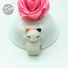 Cat Kitten Mochi Squishy Squeeze Healing Toy By Freebang.