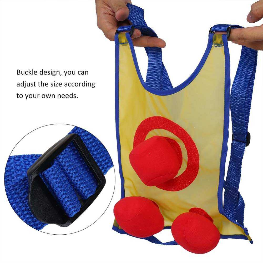 Catch And Toss Game Sticky Shirts Balls Interactive Toys & Kids Children Sports By Mizzzee66.