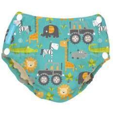 cc78044a3b93a Charlie Banana 2-in-1 Swim Diapers & Training Pants wt Snaps Safari -