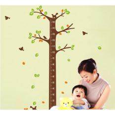 Cherrie Kids Growth Chart Wall Stickers By Walplus.