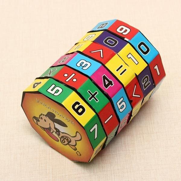 Children Kids Intelligent digital rubik cube Educational Toys