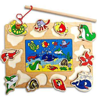 Harga preferensial Anak-anak Magnetik Memancing Dilaut Dunia Mainan Puzzle beli sekarang - Hanya Rp69.460