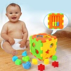 Children Toys Colorful Square Blocks Early Educational Puzzles Toy By Super Babyyy.