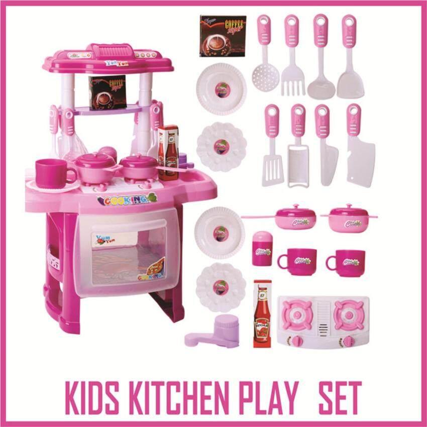 CHILDRENS / KIDS KITCHEN COOKING TOY SET