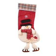 Christmas Stocking Candy Bags Santa Claus Snowman Elk Gift Bags Christmas Tree Decoration By Kobwa Direct.
