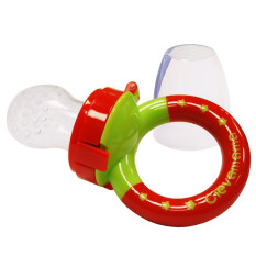 New In Box Clevamama Clevafeed - Silicone Safe Feeder With Extra Teat By Halomama.