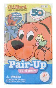 Clifford the Big Red Dog Pair-up Card Game with CollectibleClifford Figurine Included By Patch by Patch Products. Inc. - intl