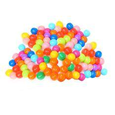 Colorful Ball Soft Plastic Ocean Ball Funny Baby Kid Swim Pit Toy 100pcs By Unique Amanda.
