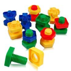 Colorful Screw Nuts Matching Toy Educational Puzzle Baby Gifts By Jettingbuy.