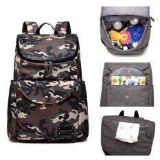 COLORLAND ผ้าอ้อมกระเป๋าแฟชั่นแม่คลอดถุงผ้าอ้อมเด็กทารกผ้าอ้อมเด็กกระเป๋าเป้สะพายหลังผ้าอ้อมกระเป๋าพยาบาล - นานาชาติ