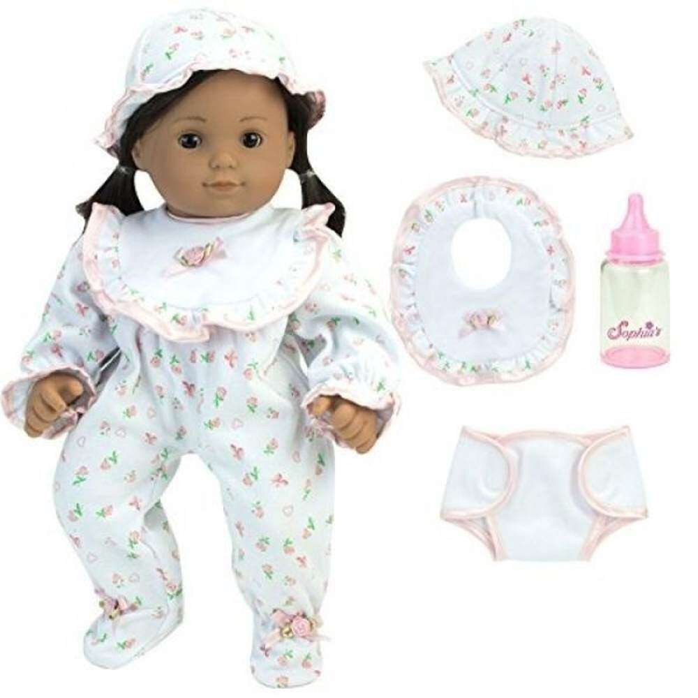 15386e19259  BABY store New Arrival Complete Gift Set of 15 Inch Baby Doll Pjs and