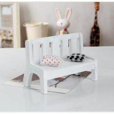 Cool Baby Miniatures Wooden Garden Outdoor Chair Seat Bench Accessories Furniture Kit By Mingrui.