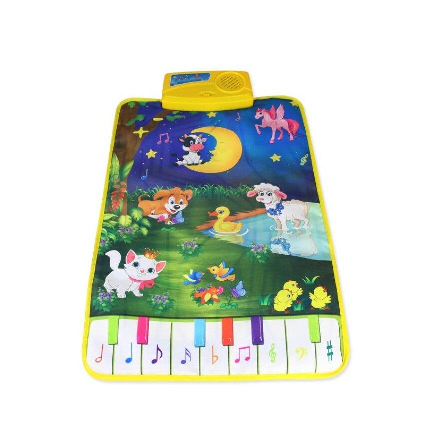 Coolplay CP2301nc 37.5X62 Cm Musical Carpet Dream Farm Land Permainan Alas Selimut Bayi Plastik Educationaltoy