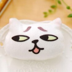 Cotton Velvet Cute Animal Little Cat Brooch Badge Pin Fashion Decorations By Costel.