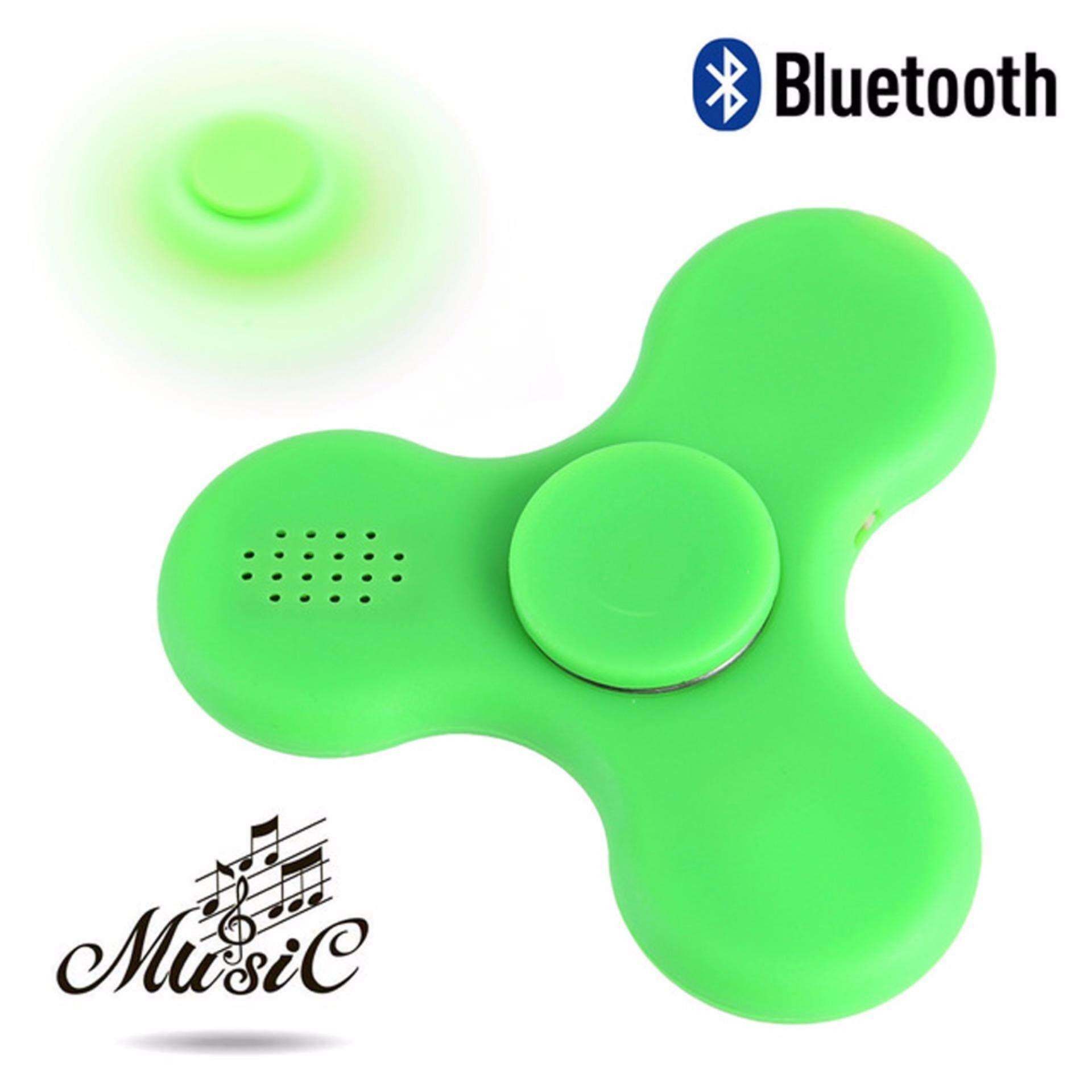 Buy Sell Cheapest Fidget Spinner Bluetooth Best Quality Product Spiner Led Nyala Creative Dengan Pembicara Isi Ulang Edc Tangan Fingertip Gyroscope Anti Stress