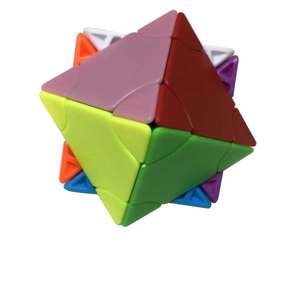 Fs Big Sale Creative Pyramid Shape Jigsaw Speed Puzzle Cube Intellectual Development Smart Cube As Relief Anxiety Stress Toy Specification Changeable Tower Style Twin Towers Intl Free Shipping