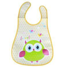 Cute Cartoon Baby Kids Bibs Waterproof Saliva Towel Feeding Bandana Apron(red) By Welcomehome.
