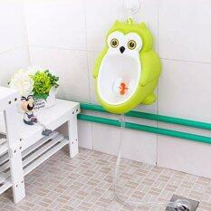 Cute Owl Potty Training Urinal For Boys With Funny Aiming Target And Water  Pipe   Yellow